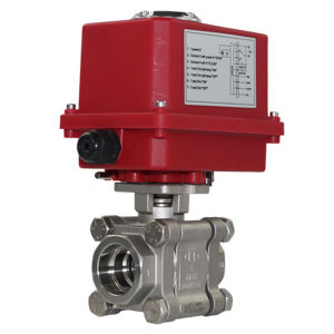 Socket Weld Stainless Steel Heavy Duty Electric Actuated Ball Valves